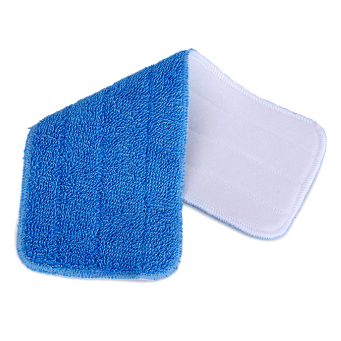 Microfiber Mop Pads, Yamix Set of 10 Hardwood and Floor Microfiber Spray Mop Pads Cleaning Pad Mop Refill Replacement Heads for Wet/Dry Mops,Spray and Spin Magic Mop - Blue by Yamix (Image #3)