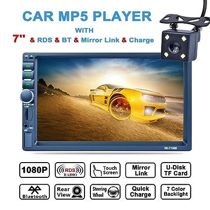 Amazon com: LSLYA (TM) 7inch HD bluetooth MP5 player TFT touch