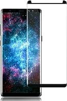 Película de Vidro Curva para Samsung Galaxy Note 8, Cell Case, Smarphone Samsung Galaxy Note 8 N950, Película de Vidro Protetora de Tela para Celular, Preto