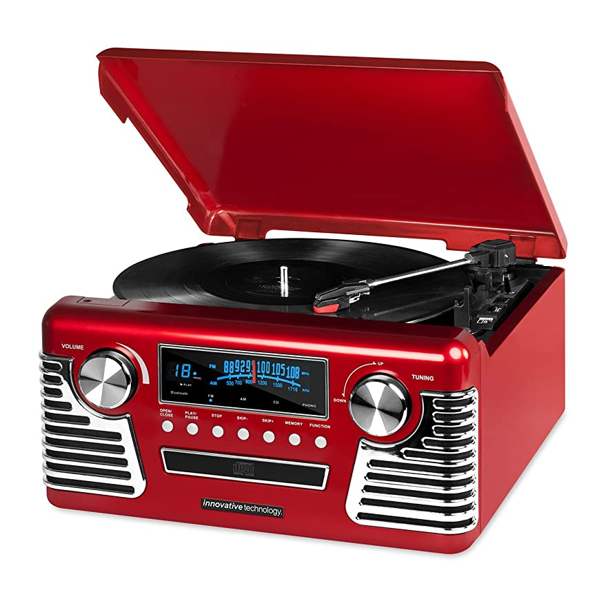 Retro Record Player with BlueTooth