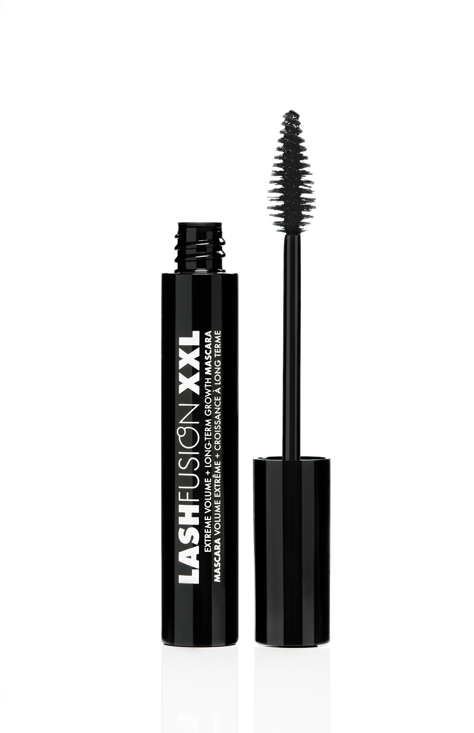 Fusion Beauty Lash Fusion XXL Extreme Volume and Long-Term Growth Mascara, Black,