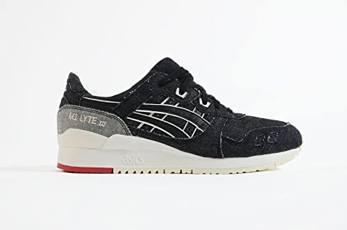 12bb1aa92 Asics - Gel Lyte III - Sneakers Hombre - Black - US 12.5 - EUR 47 - CM 30   Amazon.es  Zapatos y complementos