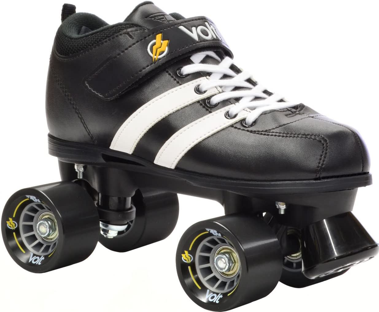 Riedell RW Volt Quad Roller Derby Speed Skates with White Laces