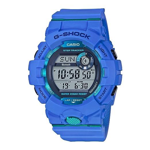 Casio Reloj Digital para Hombre de Cuarzo con Correa en Plástico GBD-800-2ER: Amazon.es: Relojes