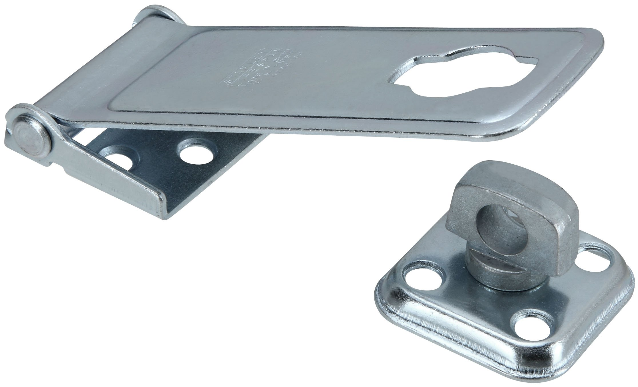 Stanley National Hardware S755-210 917 Latch Post Hasp in Zinc, 4-1/2''
