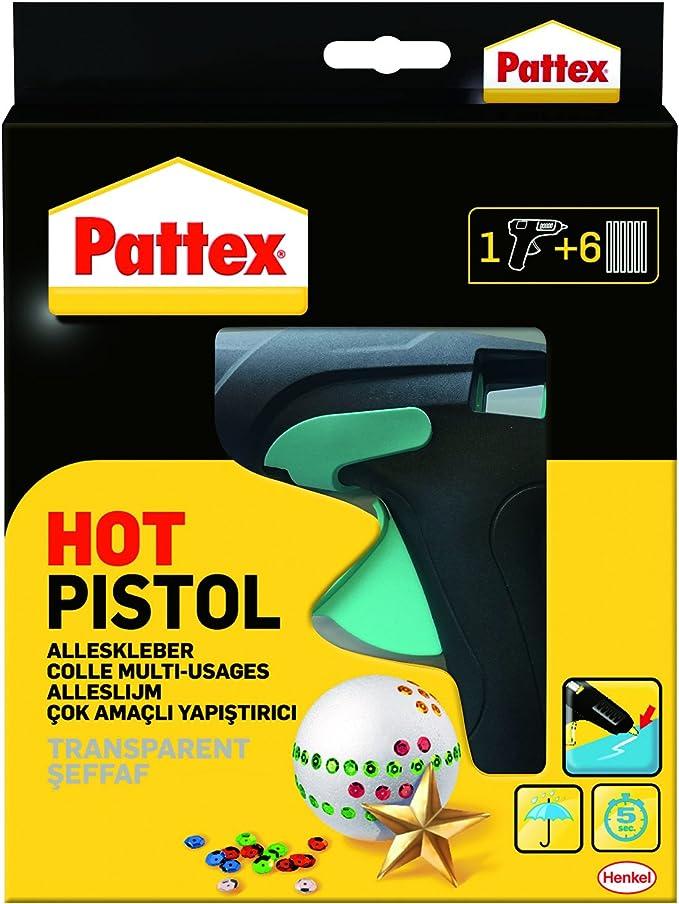 Pistolet /à colle /à chaud Mini avec 2 b/âtons de colle haute temp/érature Pistolet /à colle Manille flexible pour bricolage Arts et m/étiers Projets 25 W