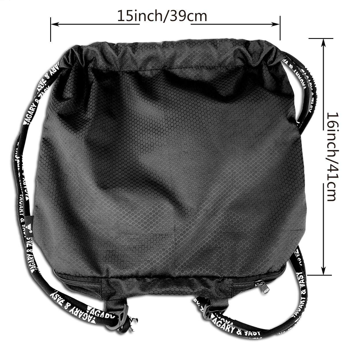 HUOPR5Q Sport Drawstring Backpack Sport Gym Sack Shoulder Bulk Bag Dance Bag for School Travel