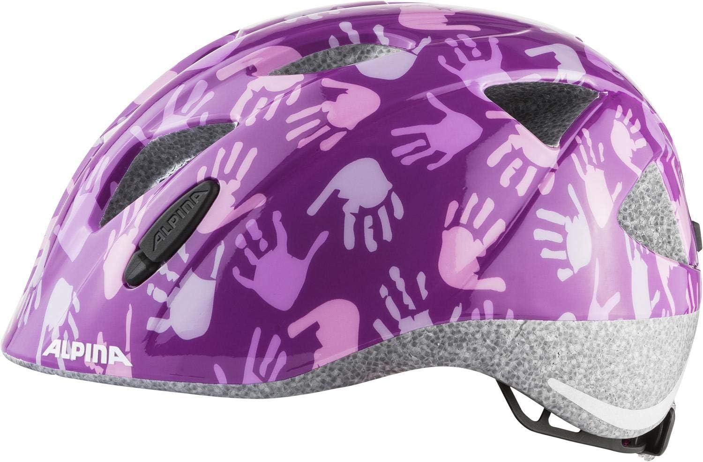 Berry Hands Gloss 45-54 cm Alpina Kinder-Fahrradhelm ALPINA XIMO Gr