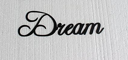 Dream Word Metal Wall Art Home Decor