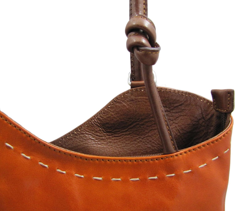 Cuoieria Fiorentina Italian Leather Convertible Shoulder Backpack Handbag