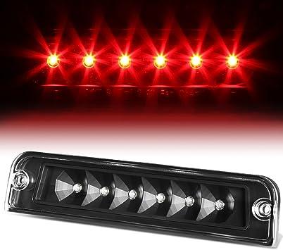 Smoke Lens For Jeep Wrangler TJ Rear High Mount LED 3rd Brake Light