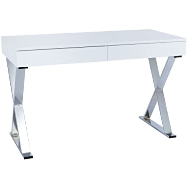 POLY & BARK Danbury Writing Desk, White