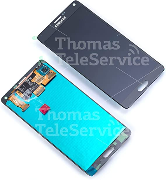 Original Samsung Galaxy Note 4 N910 F LCD Pantalla Táctil Charcoal de Black/Negro: Amazon.es: Electrónica