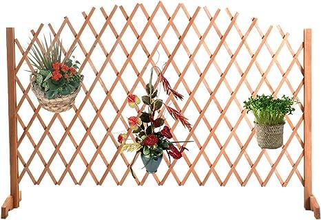 Planta Flor rejilla rejilla rejilla de madera enrejado Pergola Valla de jardín (rejilla protectora Valla
