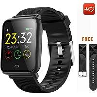 CanMixs Smart Watch CM07 Impermeabile IP67 Activity Tracker Fitness con cardiofrequenzimetro Pedometro Sonno Monitor Cronometro SMS Chiamata Notifica Telecamera remota Musica iOS Telefono Android