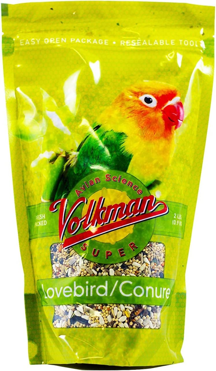 Volkman Seed Avian Science Super Lovebird/ Conure 2lb