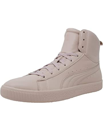 PUMA Mens Young & Reckless Clyde Mid Casual Athletic & Sneakers