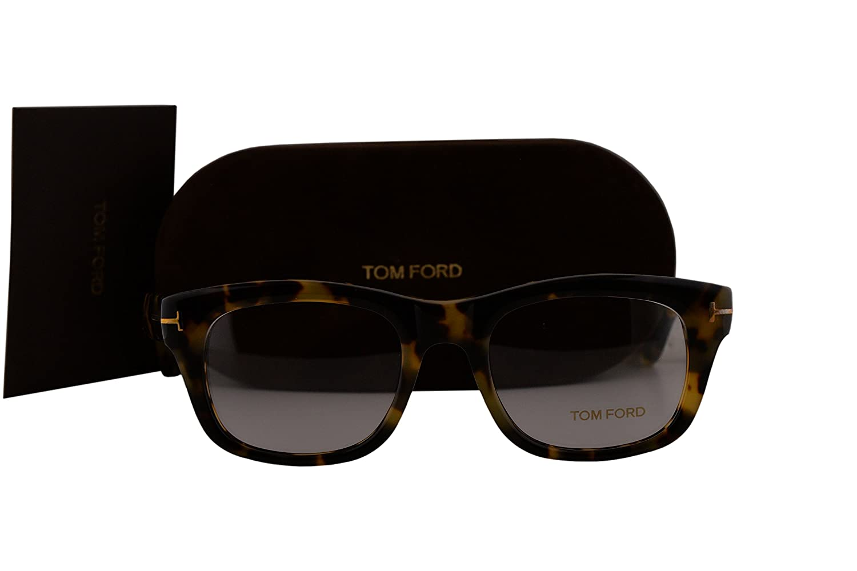 ee6a9651846c Amazon.com: Tom Ford FT5472 Eyeglasses 51-20-145 Havana w/Demo Clear Lens  056 TF5472 FT 5472 TF 5472: Clothing