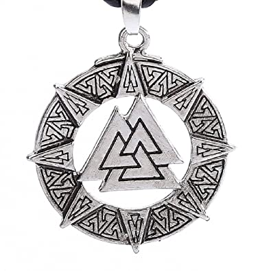 amazon com naladoo slavic norway valknut pagoda amulet pendant men