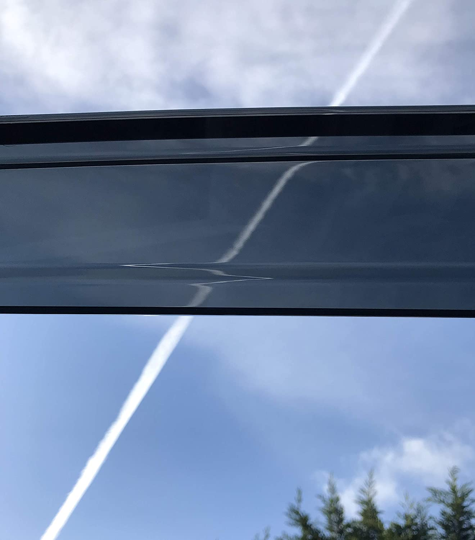 2011 2012 2013 2014 2015 2016 2016 2017 Visiere Laterali in Vetro Acrilico PMMA Plus Alpha Wagon Grand Deflettori Toyota Prius Mrp Set di 4 deflettori dAria compatibili con Toyota Prius Plus