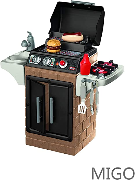 Little Tikes Get Out N Grill Kitchen Set Kitchen Playsets