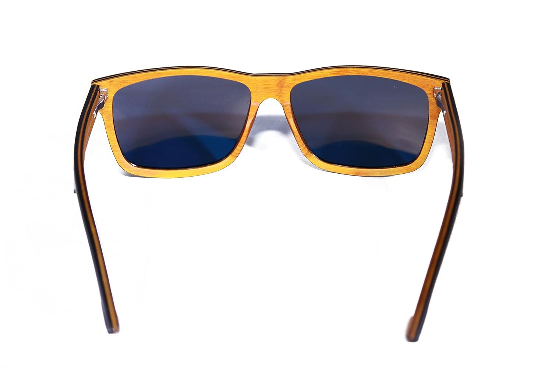 Sunken City Cabrillo Black skateboard wood sunglasses