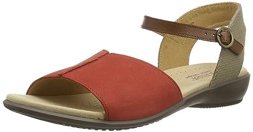 e551f35b Hotter Women's Dazzle Ankle Strap Sandals, Orange (Spice Multi), 5.5 UK 38.5