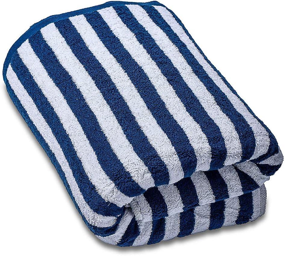SEMAXE A Righe Blu 100/% Cotone Asciugamano 1 Bath Towel