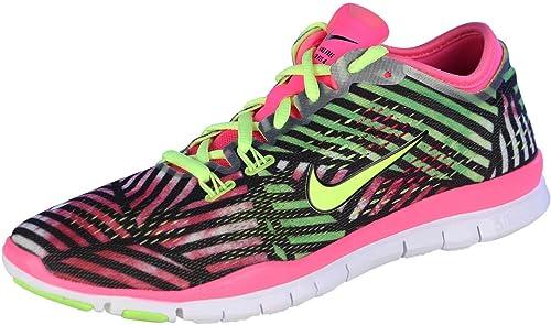 evitar Degenerar entregar  Amazon.com: NIKE Free 5.0 TR FIT 4 PRT (Pink Pow/Volt-Black) Women's  Running Shoes 9.5 US 629832-670: Shoes