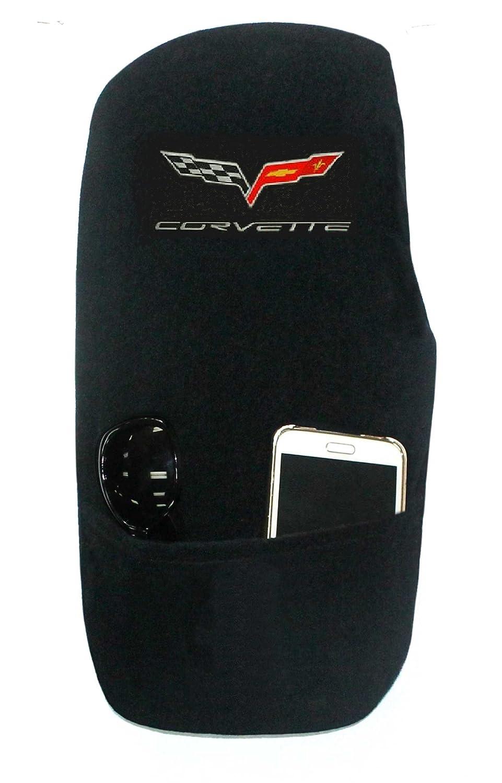 Seat Armour Custom Fit 'Konsole Armour' Center Console Cover for Corvette C5 Models (Black) KACORC5B