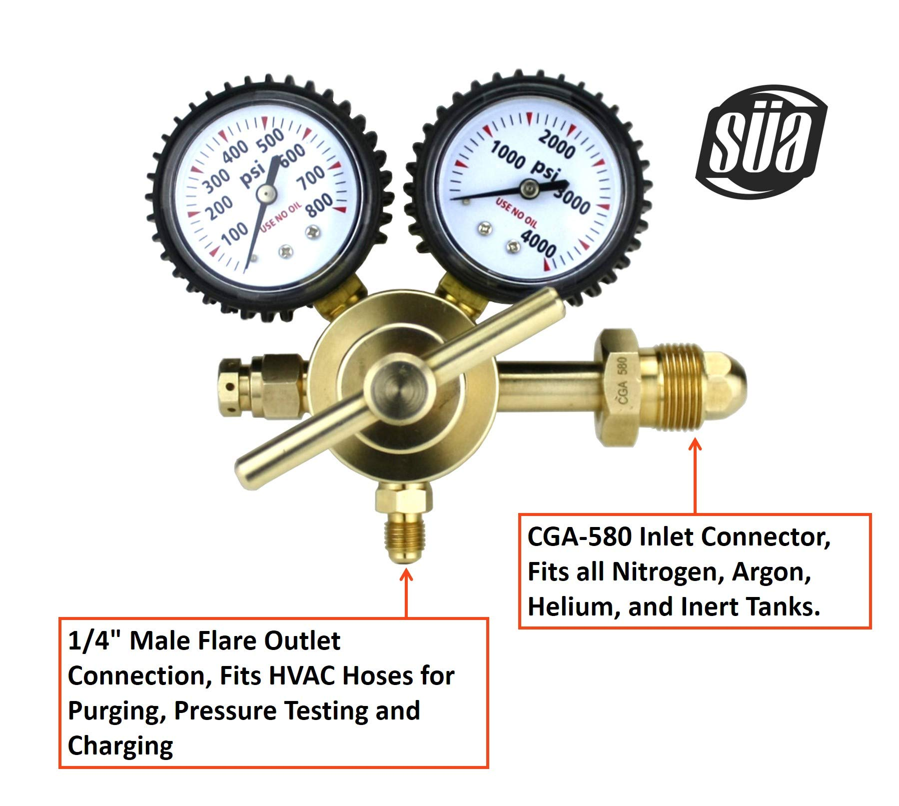 Or Sway-A-Way Shocks 0 to 400Psi Or 0 to 2800Kpa Bilstein Pacific Customs Nitrogen Shock Fill Kit Pressure Gauge for Fox 802-02-002-A King