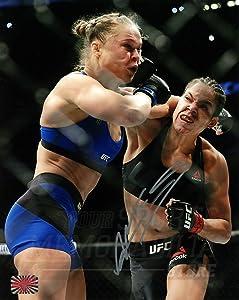 Amanda Nunes Signed Autographed MMA UFC Champion TKO Ronda Rousey 8x10