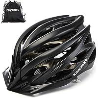 KINGBIKE Ultralight Specialized Bike Helmets CPSC&CE Certified with Rear Light + Portable Simple Backpack + Detachable…