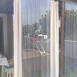 DORURE Vinilo ventana privacidad película de ventana Vinilo espejos salon decorativos cocina, oficina, sala de estar Anti UV la película de la ventana de control de calor (90_x_210_cm): Amazon.es: Hogar