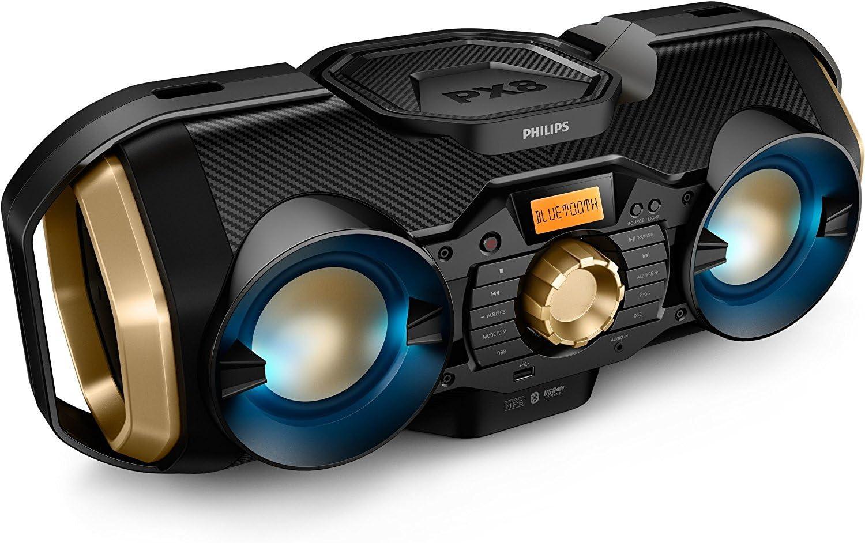 Philips Bluetooth Boombox Speaker Outdoor