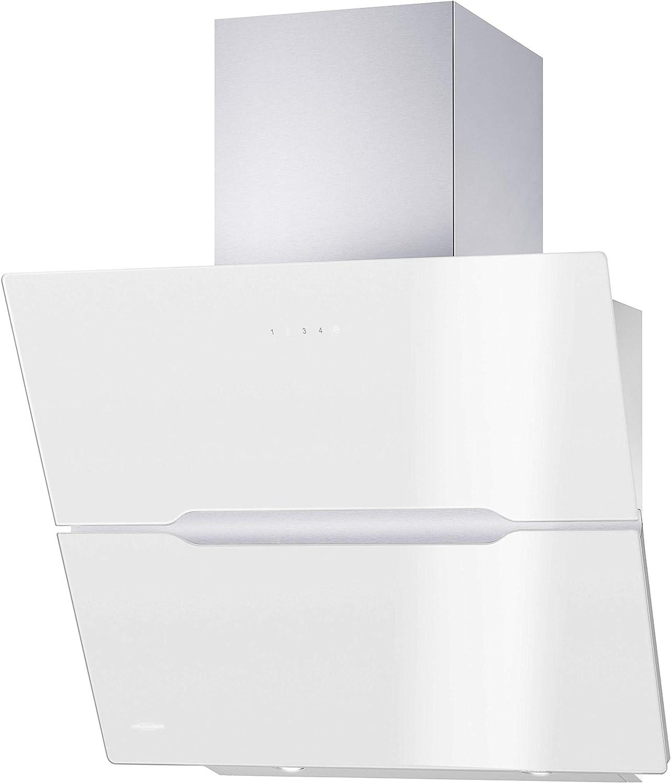 Oranier Vivio 60 W - 8677 60 - Campana extractora de humos (60 cm), color blanco: Amazon.es: Grandes electrodomésticos