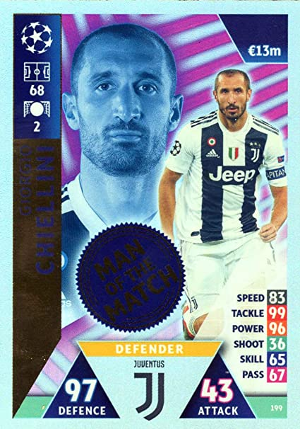 Match Attax Champions League 2018//19 18//19 Real Madrid