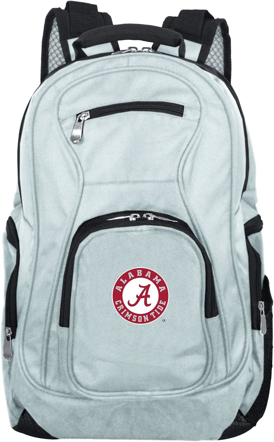 NCAA Laptop Backpack, 19-inches, Grey