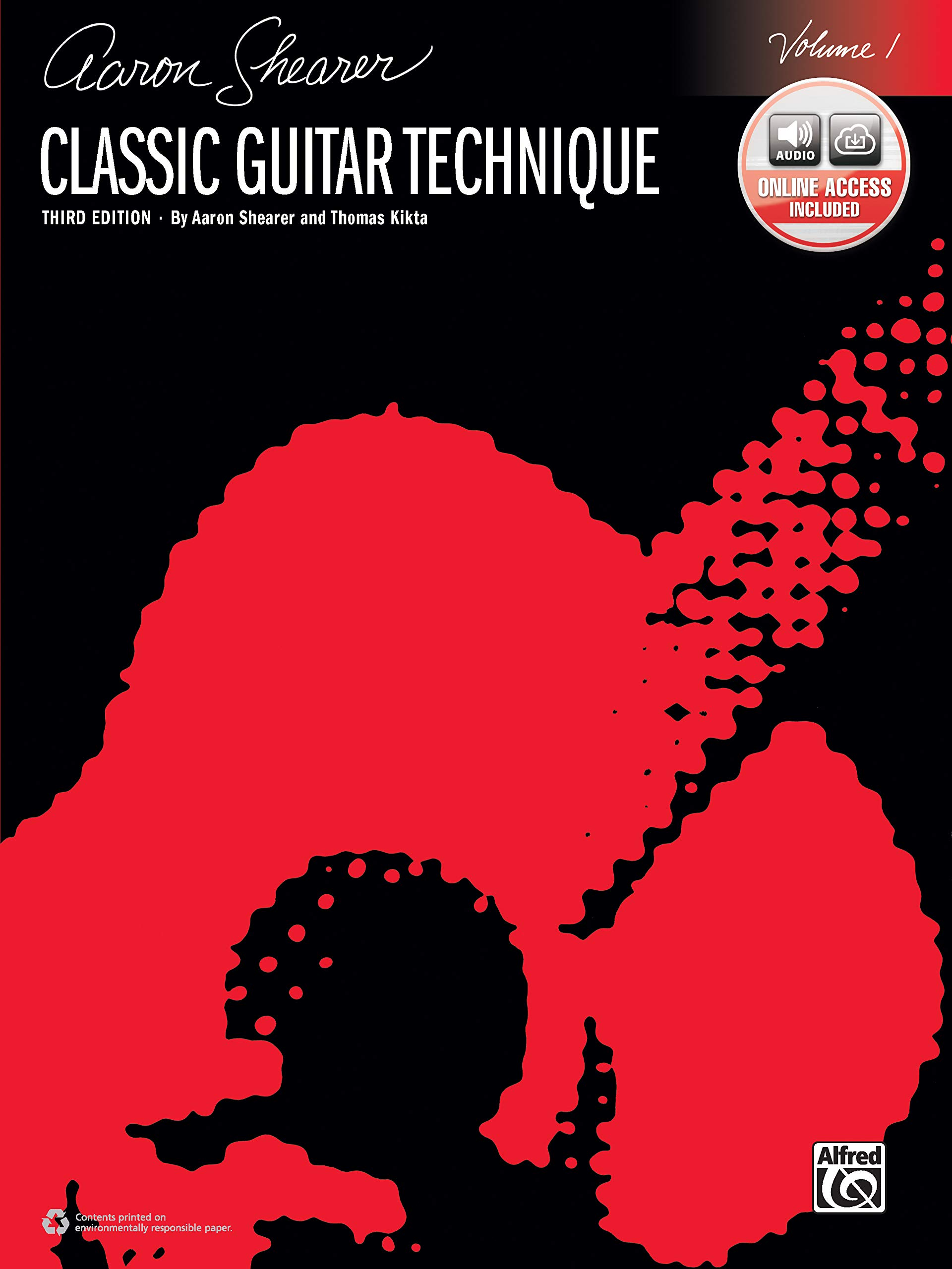 Shearer Series Classic Guitar Technique Book /& Online Audio Vol 1