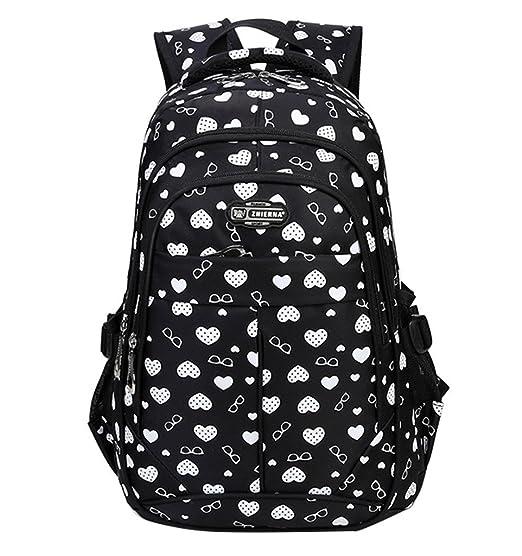 7dbaa2c8198 School Backpack for Girls Boys for Middle School Cute Bookbag Outdoor  Daypack