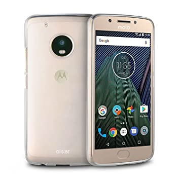 4b1c340a172 Olixar Motorola Moto G5 Clear Case - Gel Cover - Flexible Slim Protective  Cover FlexiShield -