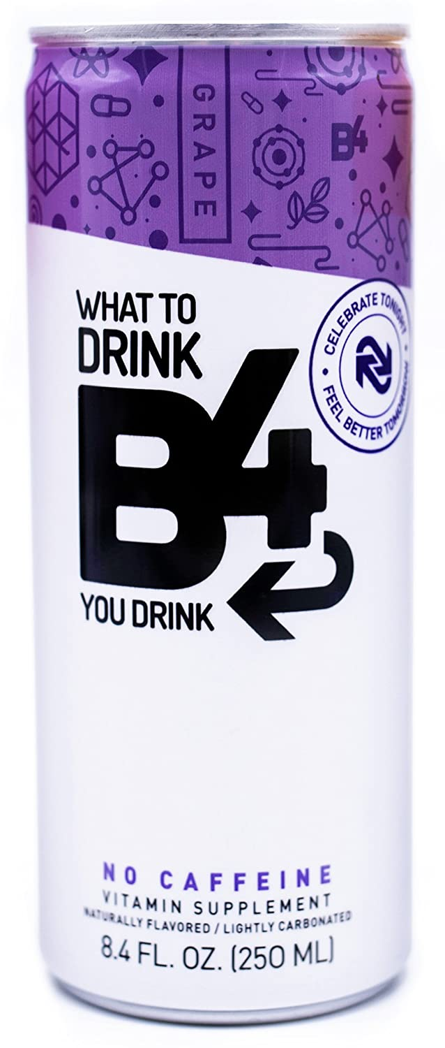 B4 (Before morning) recovery hangover drink, hangover cure, hangover prevention - these don't exist no matter what others say. | Prehydrate. Prepare. Precovery.™ Rehydrate & boost with B4.