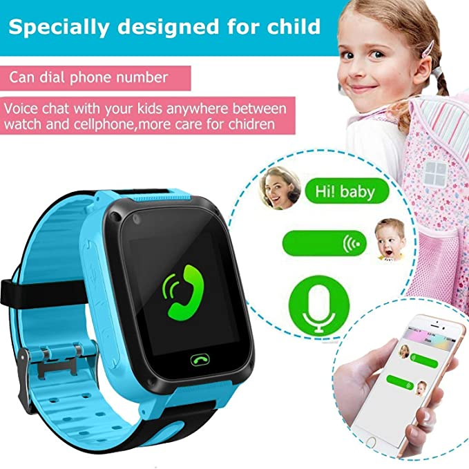Amazon.com: Kids Smart Watch Phone, LBS/GPS Tracker Smart Watch for 3-12 Year Old Boys Girls with SOS Camera Sim Card Slot Touch Screen Game Smartwatch ...