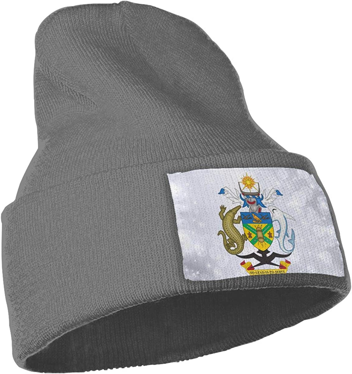 JimHappy Coat of Arms of The Solomon Islands Hat for Men and Women Winter Warm Hats Knit Slouchy Thick Skull Cap