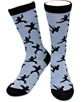 Novelty Ninja Socks by Neon Eaters - Funky, Crazy, Fun - Kids, Womens & Mens Sizes - 100% comfort guarantee