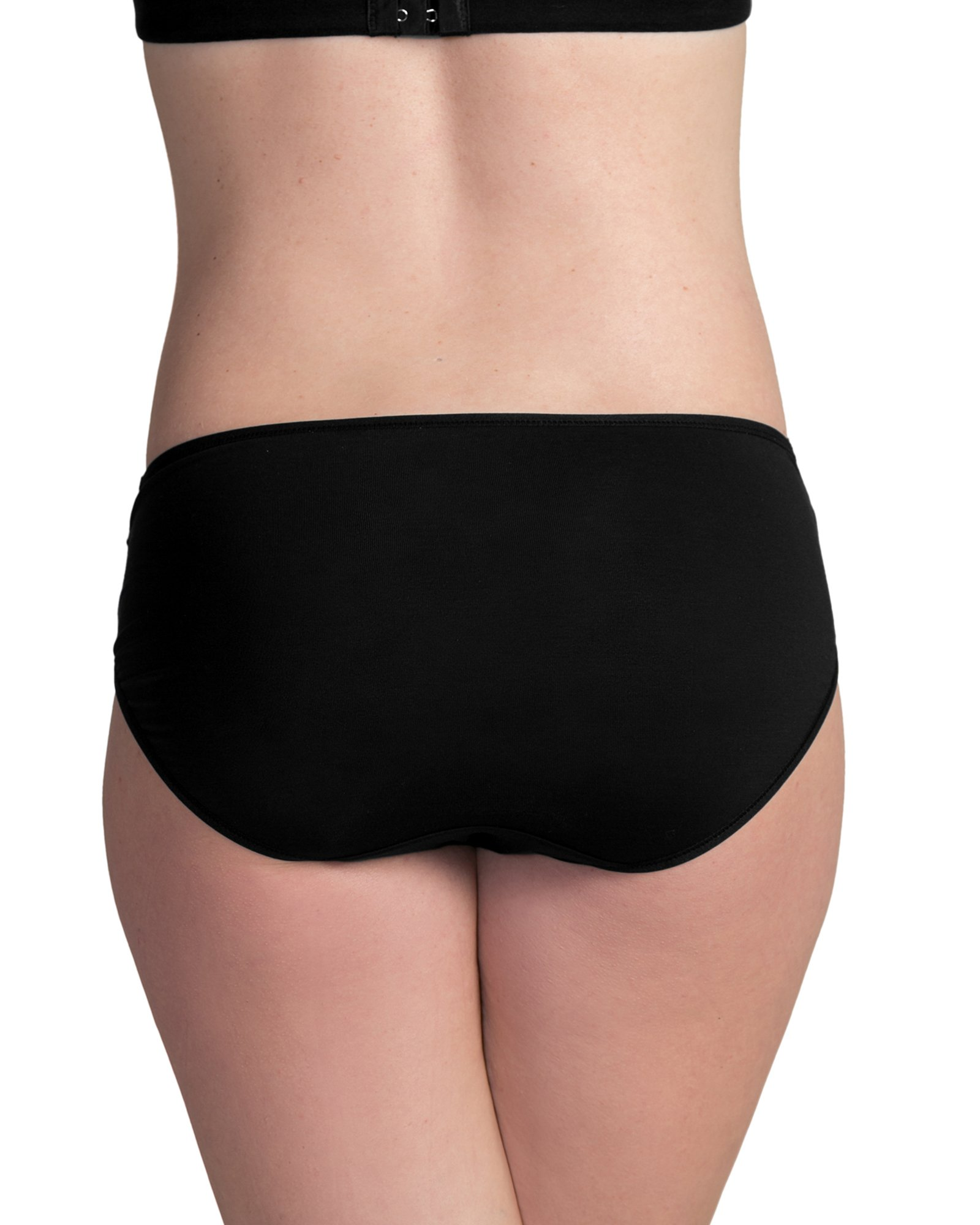 Kindred Bravely Under The Bump Seamless Maternity Underwear/Pregnancy Panties - Bikini (Large Assorted, 5 Pack) by Kindred Bravely (Image #4)