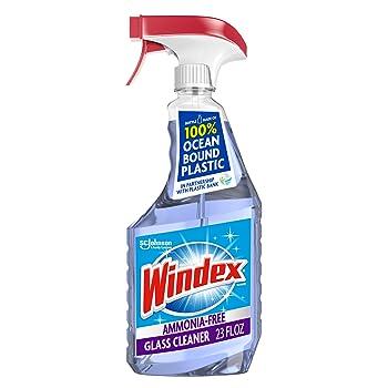Windex Ammonia-Free 23 oz. Spray Car Window Cleaner