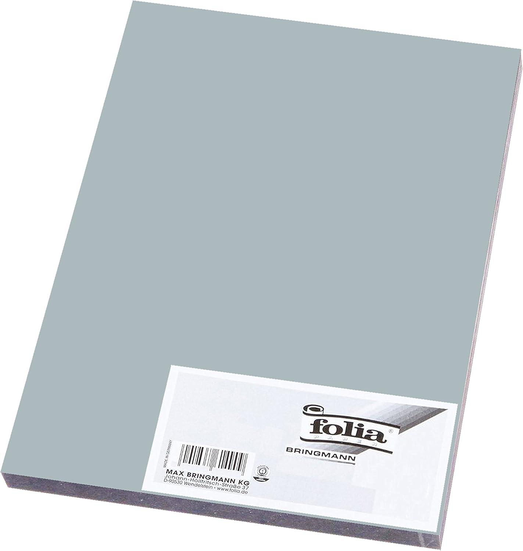 Folia Tonpapier Din A3 130g//m/² 10 Blatt, 00 Wei/ß