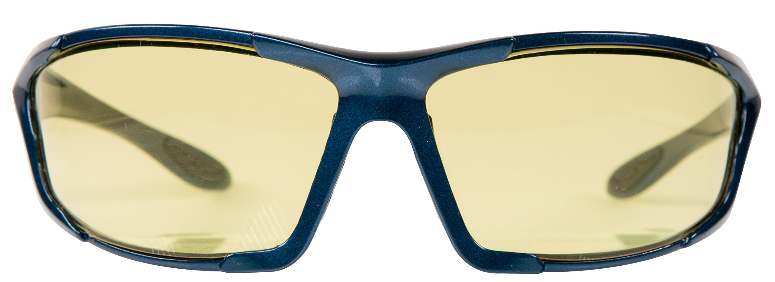 Smith & Wesson Major Full Frame Shooting Glasses with No-Slip Rubber, Impact Resistance and Storage Bag for Shooting, Working and Everyday Use by SMITH & WESSON