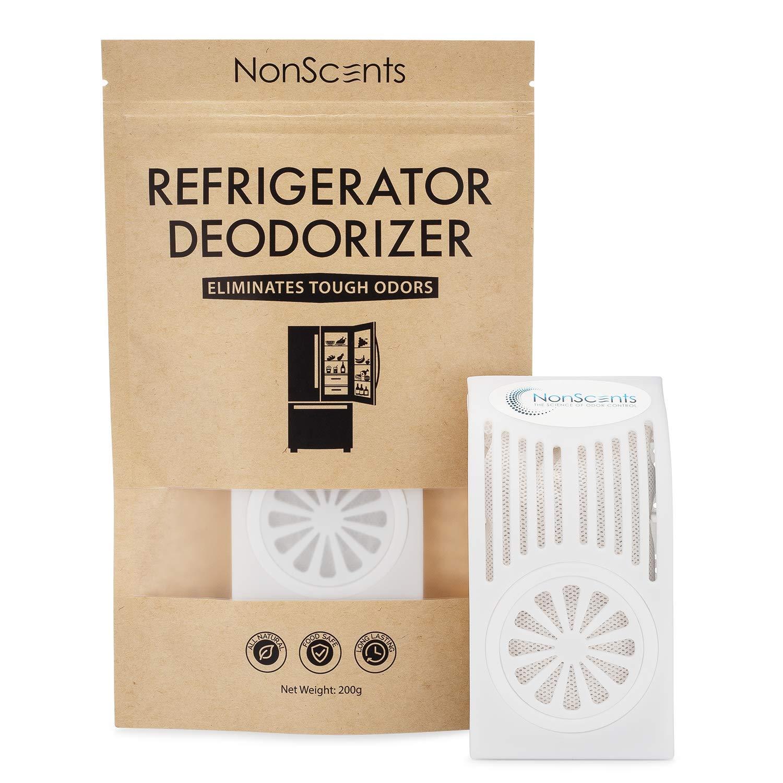 Desodorizador de refrigerador NonScents - Dura hasta 6 meses ...